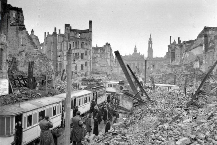 71st anniversary of Dresden fire bombing