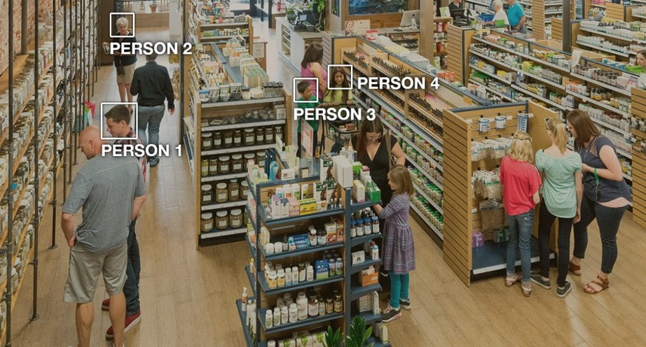 Amazon Rekognition interface records information about the faces of shoppers -Amazon