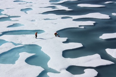 arctic-ice-melt larger than USA in 2012