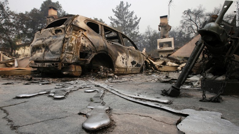 burnt car CA -CNN
