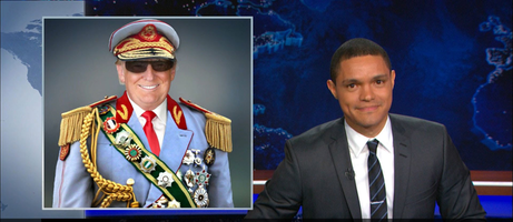 Captain Donald with Trevor Noah -The Daily Show