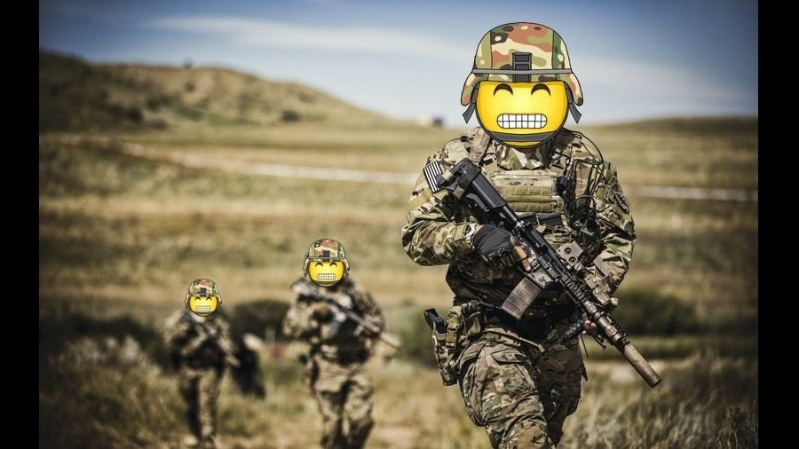 celebrating World Emoji Day -US Army