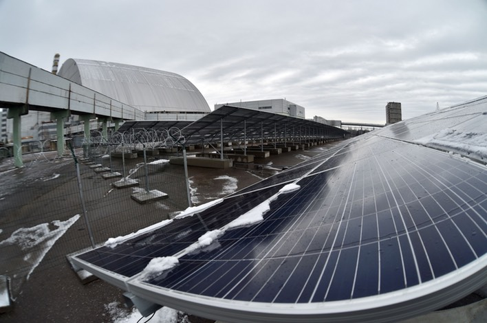 Chernobyl is transforming into a massive solar power plant ... ibtimes.co.uk