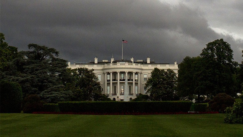 Dark clouds over the White House -Andrew Caballero-Reynolds : AFP