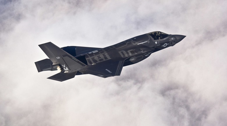 F-35B fighter jet © US AIR FORCE : Reuters