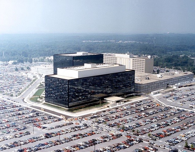 Headquarters of the NSA at Fort Meade, Maryland