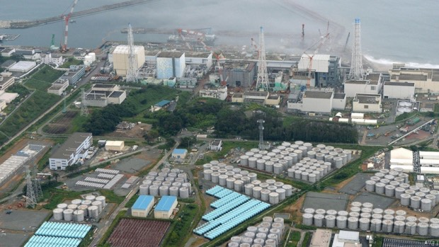 Tokyo Electric Power Co.'s tsunami-crippled Fukushima Daiichi nuclear power plant and its contaminated water storage tanks -Reuters